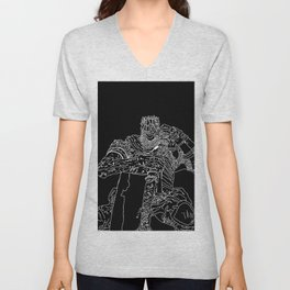 Yorm the reclusive Giant lord Unisex V-Neck
