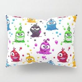 Goofy Monster Pattern Pillow Sham
