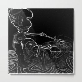 decapitation Metal Print