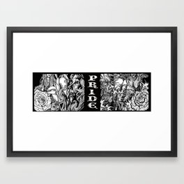 seven deadly sins billboard Framed Art Print
