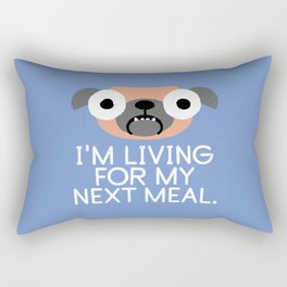 Stay Hungry Rectangular Pillow