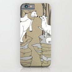 Arctic fox and Polar bear, Romeo and Juliet Slim Case iPhone 6s