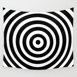Circle Illusion Wall Tapestry