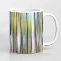 blur Mugs featuring Blur by Angela King-Jones