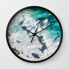 Wave Break - Ocean Shores Wall Clock
