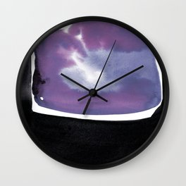 Introspection 2N by Kathy Morton Stanion Wall Clock