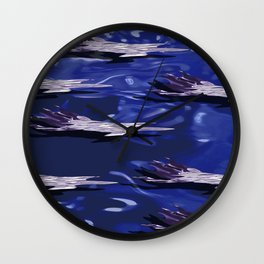CLOUDS ON WATER N.1 Wall Clock