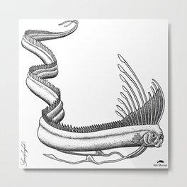 Oarfish Metal Print