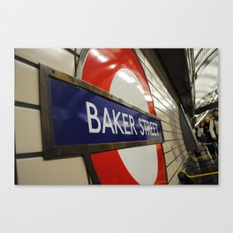 Baker Street Station Canvas Print