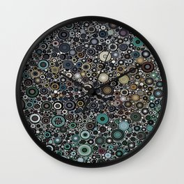 :: Touchdown on a Rainy Day :: Wall Clock