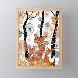 HELLO FOXY Framed Mini Art Print