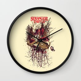 UpsideDown Wall Clock