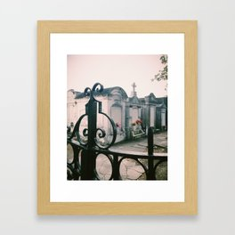 Lafayette Cemetery No. 1, New Orleans Framed Art Print