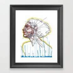 Sleep and a Forgetting Framed Art Print