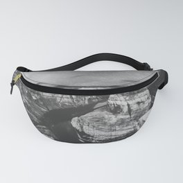 Southwest Starry Night Black and White Fanny Pack