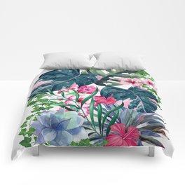 Tropical Plants Comforters