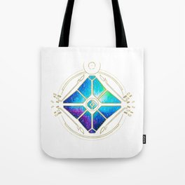 Nebula Ghost Tote Bag