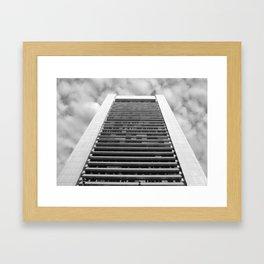 skyscraper Framed Art Print