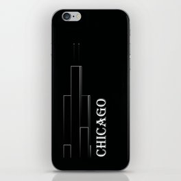 Chicago 1B iPhone Skin