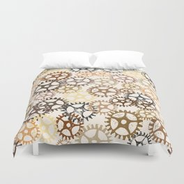 Geared Up Duvet Cover