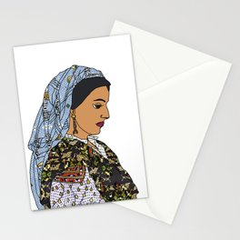 No Ban No Wall   Art Series - The Jewish Diaspora 001 Stationery Cards