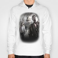 zombies Hoodies featuring Zombies by Joe Roberts