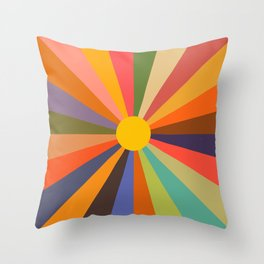 Sun - Soleil Throw Pillow