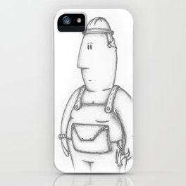 Hard Hat iPhone Case