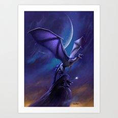Dragon's Flight Art Print