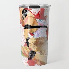 Shibari - Japanese BDSM Art Painting #6 Travel Mug