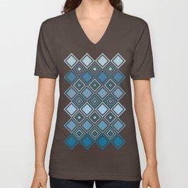 Blue Tiles I Unisex V-Neck