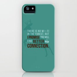 Better Connection iPhone Case