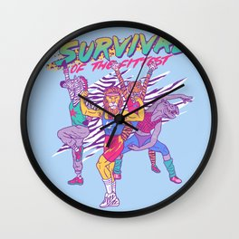 Survival of the Fittest Wall Clock