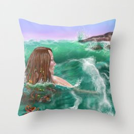 Regarding the Shore Throw Pillow