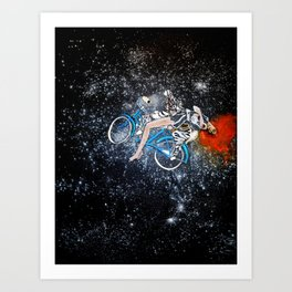 Space Cycler Art Print