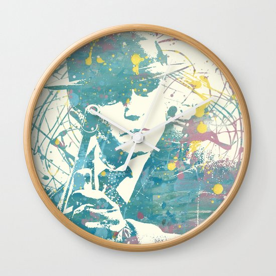 johnny deep public enemies Wall Clock