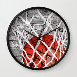 Basketball Art Wall Clock