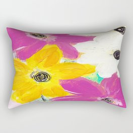 Every Day Floral Rectangular Pillow