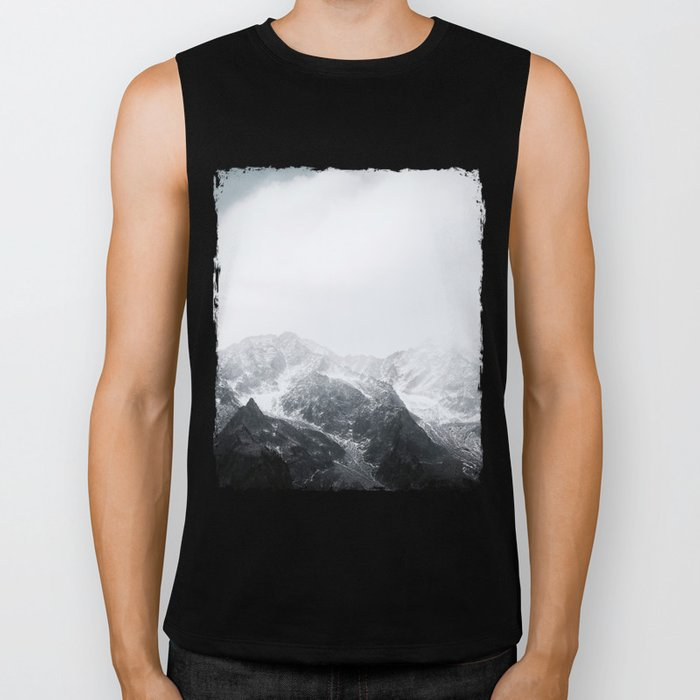 Morning in the Mountains - Nature Photography Biker Tank