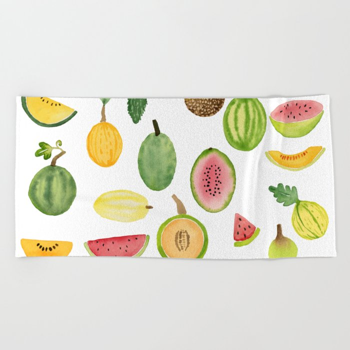 Melons Beach Towel