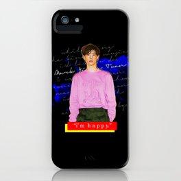 Mark Tuan x DAZED (1) iPhone Case