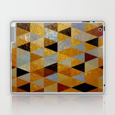 Abstract #382 Copper Foil Laptop & iPad Skin