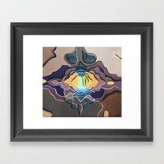 El meu nas Framed Art Print