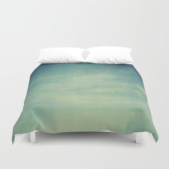 Sky Blue Duvet Cover
