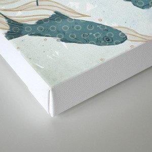 Bluefish Canvas Print