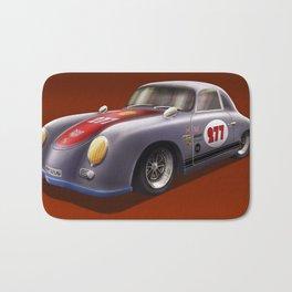 Porsche 356 Illustration Bath Mat