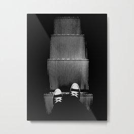 Up The Down Escalator Metal Print