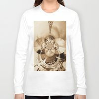 paris Long Sleeve T-shirts featuring Paris by Rose Etiennette