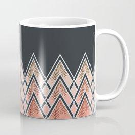 Pink Déco Mountains #society6 #buyart Coffee Mug