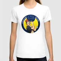 feminism T-shirts featuring Whovian feminism by ElinJ